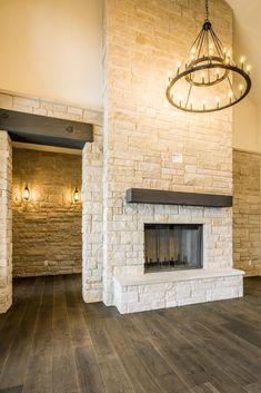 Farm House - Spicewood — Lake Hills Custom Homes - Farm House – Spicewood — Lake Hills Custom Homes - Home Fireplace, Fireplace Remodel, Two Story Fireplace, Fireplace Ideas, Rock Fireplaces, Stacked Stone Fireplaces, Home Remodeling, Bathroom Remodeling, Home Living Room