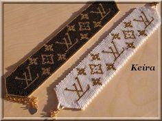 Manchettes LV... - Les trésors de Keira