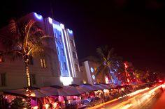 Vida noturna em Miami #viagem #Miami #turismo