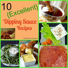 Hope In Every Season: 10 {Excellent} Dipping Sauce Recipes