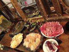Classy food display for any event