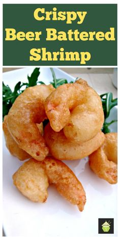 Crispy Beer Battered Shrimp / Prawns. Oh boy.. these are delicious! Light and crispy batter, don't forget the dip!