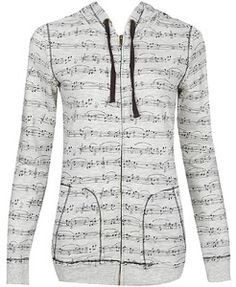 Music Hoodie. My friend has one like this!!!