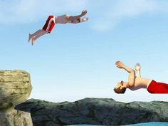 Flip diving apk - Gameplay Android - iOS
