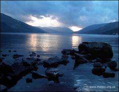 Loch Earn Winter Sunset, Scotland -