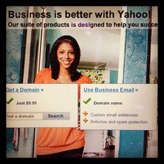 VICO image in regular rotation on Yahoo!'s small business homepage