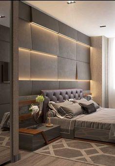 Modern Luxury Bedroom, Luxury Bedroom Design, Master Bedroom Interior, Bedroom Bed Design, Modern Bedroom Decor, Bedroom Furniture Design, Luxurious Bedrooms, Simple Bedroom Design, Teen Bedroom Designs
