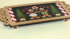 Bear With Us offers discounts on pattern packets, wood products and more. Decorative Paintings, Painted Plates, Tole Painting, Christmas Projects, Winter Christmas, Gingerbread, Tray, Wine, Country