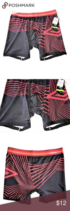 NEW Men's Umbro Performance Boxer Brief NEW Men's Umbro Performance Boxer Brief SIZE Large  I try my very best to capture the correct color/shade.  The actual shade may vary in person. Ultra Comfortable Breathable Light Weight Easy to Wash 92% Polyester, 8% Elastane Thank you so much! Umbro Underwear & Socks Boxer Briefs