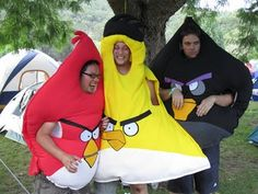SHUT UP - my kids are gonna want to be angry birds for Halloween!!!! LOVE THIS!!!!