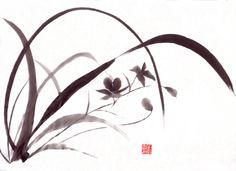 Sumi-e images | El Sumi-e es un arte pictórico que se desarrolló en China alrededor ...