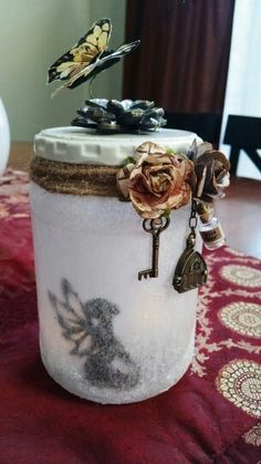 Fairy jar created for my mother.