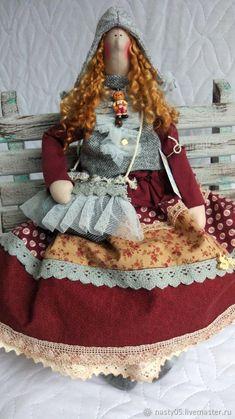 Куклы Тильды ручной работы. Гертруда.Тильда в стиле бохо. Наталия Раш. 'Вдохновение'.. Ярмарка Мастеров. Кукла, синтепон