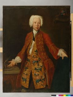 Portrait of Christoph Ludwig, Baron of Seckendorff-Aberdar, Antoine Pesne, oil on canvas, 1737. Germanisches Nationalmuseum accession no. Gm1395