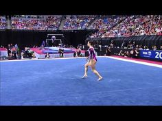 Jordyn Wieber. Floor Exercise. 2012 Visa Championships. #gymnastics
