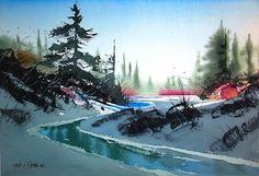 david rankin watercolor | David Rankin will teach a workshop at Artists' Showplace Gallery for ...