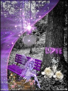 A hint of purple in this neat collage. Purple Love, All Things Purple, Shades Of Purple, Deep Purple, Splash Images, Color Lila, Beautiful Fairies, Purple Reign, Purple Fashion