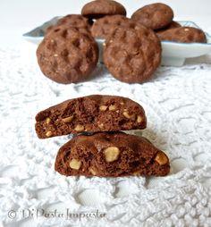 biscotti di farro al cioccolato e nocciole senza burro