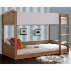 Gisborne King Single Bunk Bed. Get it now or find more Bunk Beds at Wesco Hub. Low Bunk Beds, Girls Bunk Beds, Bunk Bed With Trundle, Loft Beds, King Single Bunk Beds, King Beds, Bunk Beds Australia, Sonoma Oak, Beds For Sale