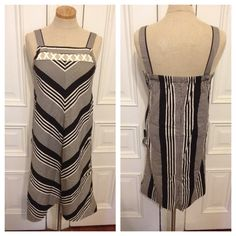 Vintage 80s chevron striped sundress  on Etsy, $26.00