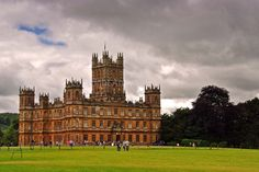 Highclere Castle home of Downton Abbey England photograph picture poster print #highclerecastle #downtonabbey #photograph #art