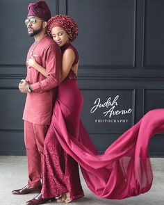 RnB singer, Banky W and actress, Adesua Etomi will have their traditional marriage tomorrow, November Pictured below is Nigerian Bride, Nigerian Weddings, African Weddings, African Attire, African Dress, African Lace Styles, Ankara Styles, Traditional Wedding Attire, African Fashion Ankara