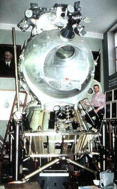 Soviet Union LK Proton Lander.
