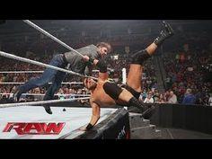 Dean Ambrose ambushes Curtis Axel- Raw, February 2, 2015