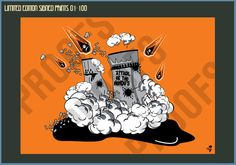 Attack of the Hendos Cooling Towers - Limited Edition Print – Goo Design