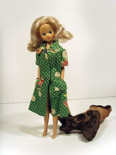 VINTAGE+-+MARY+QUANT+DAISY+DOLL+-+WITH+1975+SINDY+DRESS+-+LOVELY+CONDITION