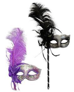 Venetian Stick Mask With Feathers Size Silver Costume Center, http://www.amazon.com/dp/B00567K1QA/ref=cm_sw_r_pi_dp_WzTKqb19DMHV9