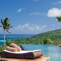 Brides.com: Fiji's Top Romantic Resorts . Fiji—a 300-island archipelago in the South Pacific—ticks off all the requirements for a heavenly honeymoon: isolated beaches, five-star resorts, and countless activities (everything from world-class diving to horseback riding). And of course, you can also chillax with a bottle of Tattinger on a beach. Here, the top resorts for honeymooners.