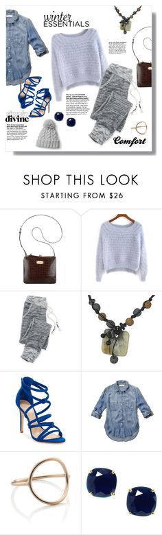 """""""Winter Wardrobe Staples"""" by kaitlyngertrude ❤ liked on Polyvore featuring Nine West, maurices, NOVICA, Schutz, Abercrombie & Fitch, Maria Black, Kate Spade, modern and vintage"""