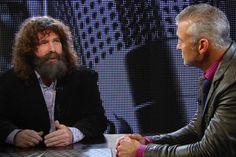 Which legendary Superstars helped to shape Shane McMahon as an in-ring competitor? Shane Mcmahon, Superstar, Wwe, Wrestling, Learning, Fictional Characters, Shape, Ring, Sports