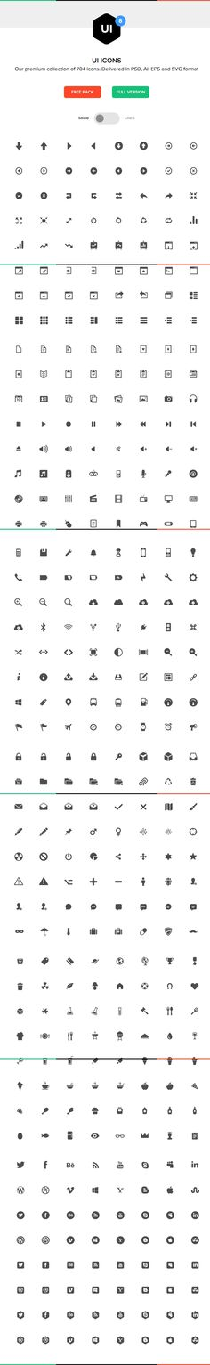 Ionicons: The premium icon pack for Ionic Framework Free Icon Fonts, Interface Design, User Interface, Ui Inspiration, App Icon, Creative Icon, Icon Pack, Mobile Design