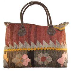 Kilim Boho Bag X by Rug & Relic