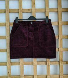 Fall Winter, Autumn, Skirts For Sale, Winter Skirt, Red Skirts, Winter Wardrobe, Skirt Fashion, Corduroy, Leather Skirt