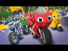 Built for speed, he's a little red rescue bike who shares his experiences with his loyal Bike Buddies Loop, Scootio and DJ. Together they race around the sports track, try new stunts at the park and zoom into every adventure . Nick Jr, Toot, Cartoon Kids, Little Red, Little Sisters, Stunts, Discovery, Channel, Adventure