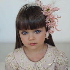 Rus çocuk model Anastasiya Knyazeva ve kusursuz güzelliği!