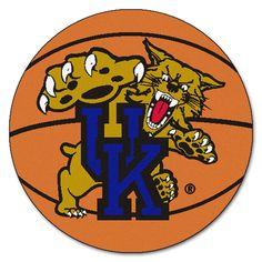 Kentucky Wildcats Basketball Area Rug