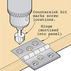 Build a few handy helpers to turn your drill press into precision drilling center. Woodworking Workshop, Woodworking Jigs, Carpentry, Woodworking Projects, Precision Drilling, Drill Press, Shop Layout, Wood Tools, Woodworking Techniques