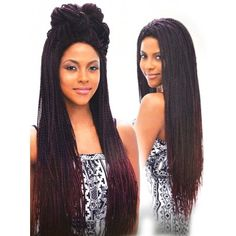 Vanessa Senegal Braid Lace Front Wig TOPS BOXY BRAID 1 (Hand Braided)
