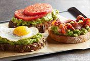 California Avocado Toast Three Ways @California Avocados