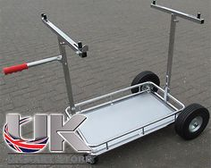 Otk #style 4 #wheel go-kart #trolley with shelf uk kart store,  View more on the LINK: http://www.zeppy.io/product/gb/2/321935404672/