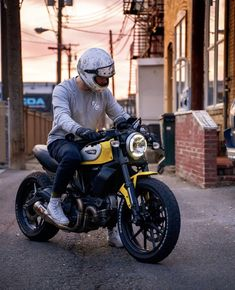 Ducati Scrambler, Alleyway, Idaho, Crocodile, Motorcycle, Biker Style, Instagram, Crocodiles, Motorcycles