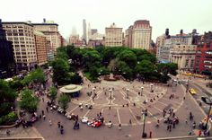 You can't beat our prime location in Union Square. #nyc