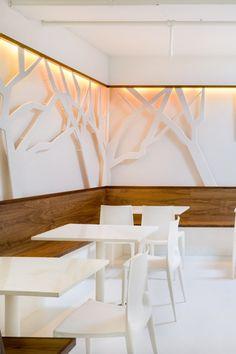 Green Cafe Restaurant | Designed by YA Studio....