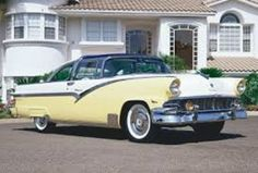 cool roof design b 1955 ford fairlane crown victoria just like  1956 ford crown victoria with plex a glas top and skirts yellow white