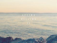Bokeh Sea ocean view Effing killing it desktop wallpaper background