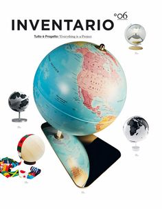 """The latest issue of INVENTARIO """"Everything is a Project"""" takes a 360 degree view of the design tradition. The magazine/book deals this time round with architecture, design and art, all combined with real, everyday life. http://www.corraini.com/scheda_libro.php?id=703"""